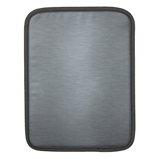 Brushed Metal laptop Sleeve Sleeves For iPads