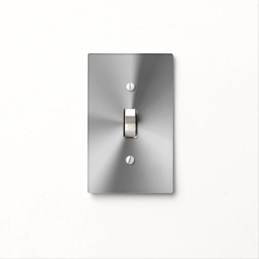 Brushed Metal Light Switch Covers Zazzle
