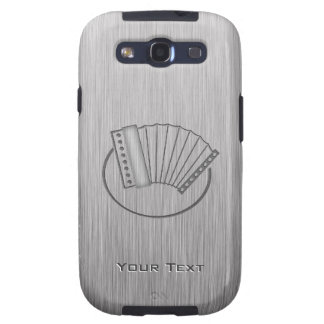 Brushed metal-look Accordion Samsung Galaxy S3 Cases