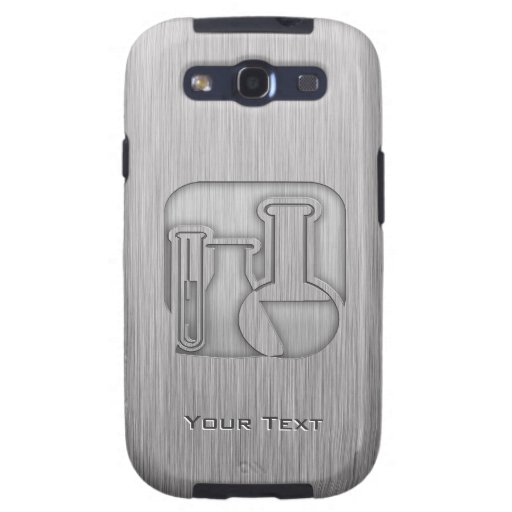 Brushed Metal-look Chemistry Samsung Galaxy S3 Cases