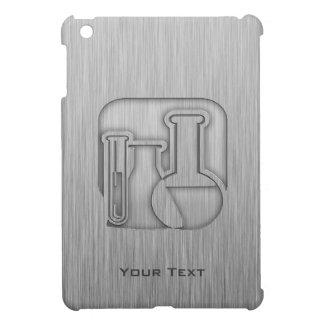Brushed Metal-look Chemistry iPad Mini Cover