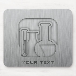 Brushed Metal-look Chemistry Mouse Pad