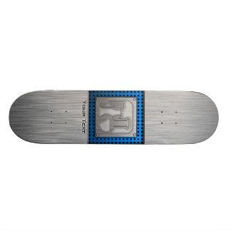 Brushed Metal-look Chemistry Skateboards