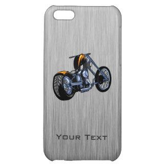 Brushed Metal-look Chopper iPhone 5C Case