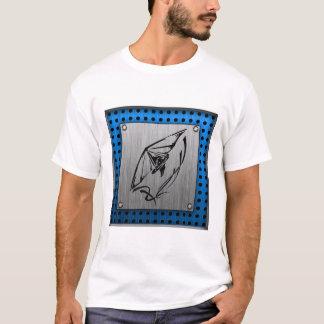 Brushed metal look Hang Glider T-Shirt