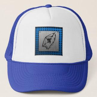 Brushed metal look Hang Glider Trucker Hat