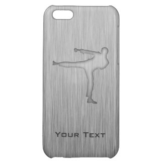 Brushed Metal-look Martial Arts Cover For iPhone 5C