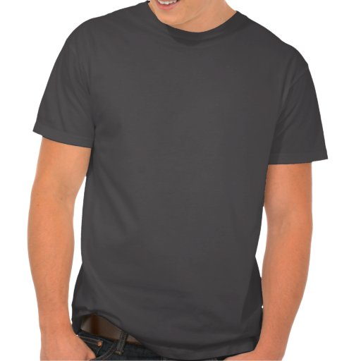 Brushed Metal-look Music Note T-shirt