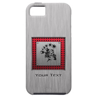 Brushed metal look Paintball iPhone SE/5/5s Case