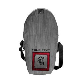 Brushed metal look Paintball Messenger Bag