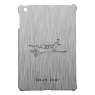 Brushed Metal-look Plane iPad Mini Cases