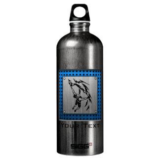 Brushed Metal look Rock Climbing SIGG Traveler 1.0L Water Bottle