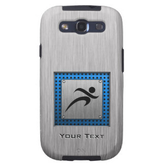 Brushed Metal look Running Samsung Galaxy S3 Cases