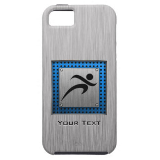 Brushed Metal look Running iPhone 5 Cases