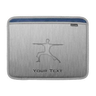 Brushed Metal-look Yoga MacBook Sleeve