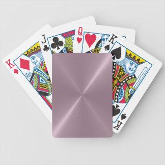 Brushed Metal Playing Cards