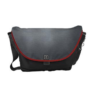 Brushed Metal Shoulder Bag Commuter Bag