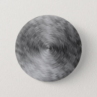 Brushed Metal Silvery Steel Metallic Abstract Pinback Button