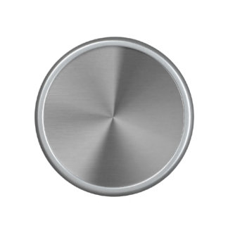 Brushed metal speaker