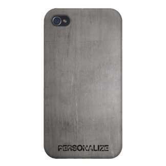 Brushed Metal Texture Case For iPhone 4
