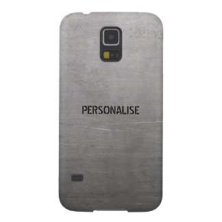 Brushed Metal Texture Galaxy S5 Case