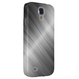 Brushed Metal Texture Samsung Galaxy S4 Case