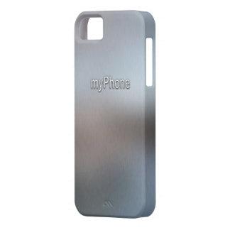 Brushed Metallic Stamped iPhone Case iPhone5