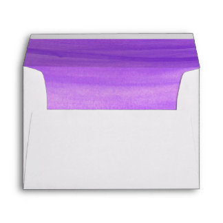 Brushed Ombre Watercolor Lined Envelopes