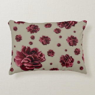 Brushed Polyester Accent Pillow - Floral Fine Art