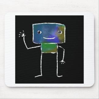 Brushed Robots - Vol 1: Lunabot Mouse Pad