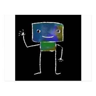 Brushed Robots - Vol 1: Lunabot Post Cards