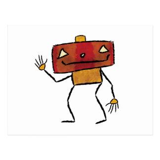 Brushed Robots - Vol 2: Jackbot Post Card