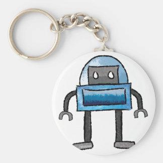 Brushed Robots - Vol 3: Frostybot Keychain