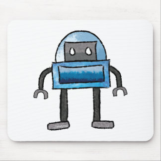 Brushed Robots - Vol 3: Frostybot Mouse Pad