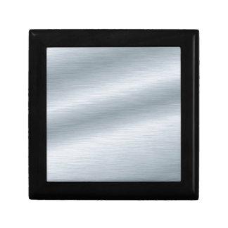 Brushed Silver Background Trinket Boxes