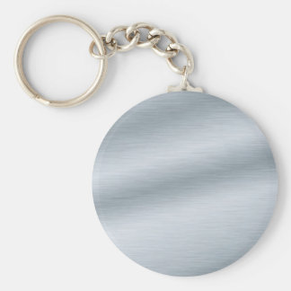 Brushed Silver Background Keychains