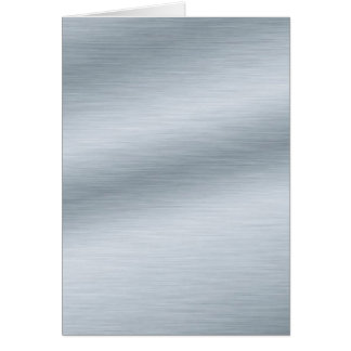 Brushed Silver Look Background Art Card