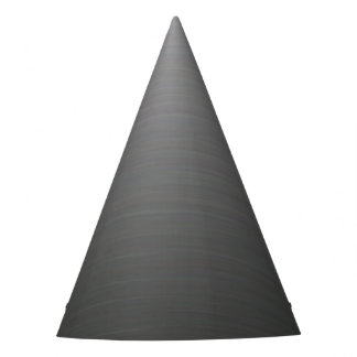Brushed Silver Metallic Look Party Hat