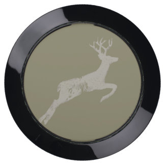 Brushed Stag Deer USB Charging Station