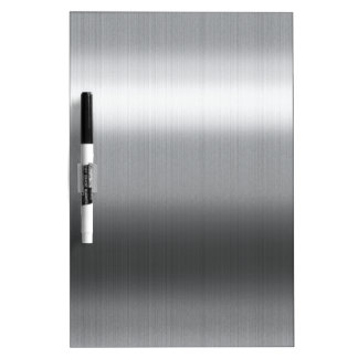 Brushed Stainless Dry-Erase Board