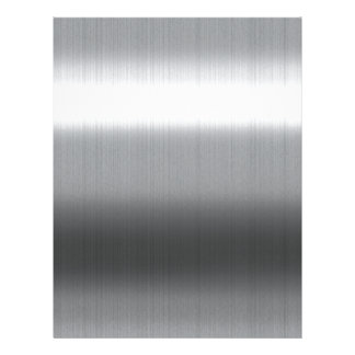 Brushed Stainless Letterhead