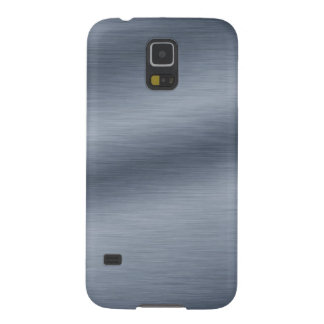 Brushed Steel Background Galaxy S5 Case