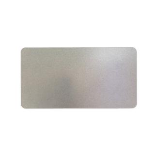 Brushed Steel Background Metal Texture Grey Label
