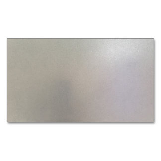 Brushed Steel Background Metal Texture Grey Magnetic Business Card
