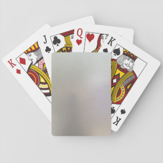 Brushed Steel Background Metal Texture Grey Playing Cards