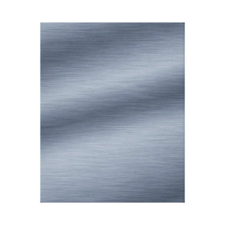 Brushed Steel Background Wrapped Canvas Stretched Canvas Prints
