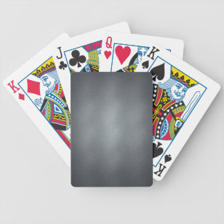 Brushed Steel Bicycle Playing Cards