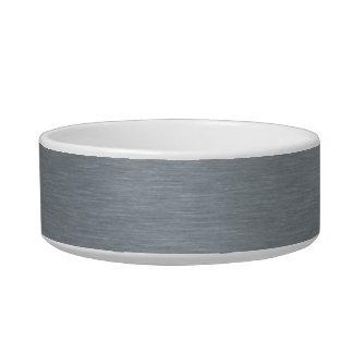 Brushed Steel Bowl Pet Bowls