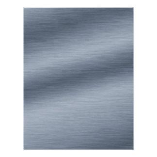 Brushed Steel Elegant Create Your Own Flyer