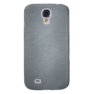 Brushed Steel Galaxy S4 Cover